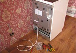 Подключение электроплиты. Самарские электрики.