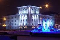 освещение фасадов в Самаре