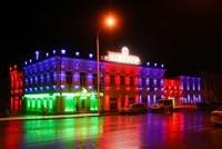 Наружное освещение: архитектурное освещение зданий, фасадов дома в Самаре
